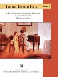 Essential Keyboard Duets (1p, 4h) - Volume 1