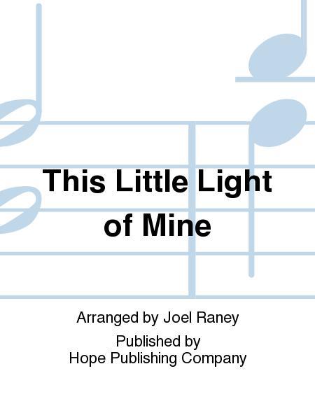 this little light of mine lead sheet pdf