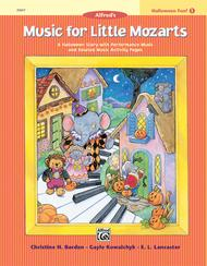 Music for Little Mozarts Halloween Fun, Book 1: Piano Solo Songbook