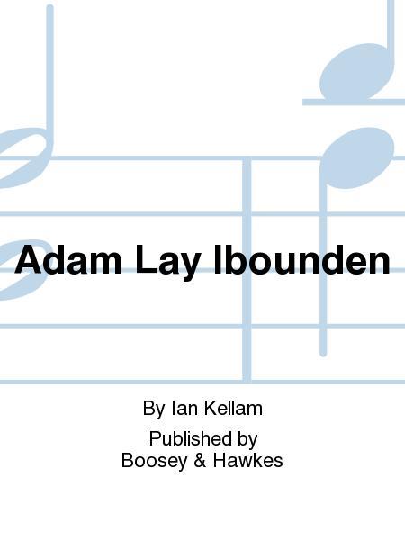 Sheet music ian kellam adam lay ibounden choral for Aaron copland el salon mexico score