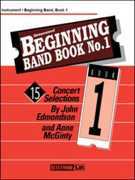 Beginning Group Book No. 1 - Conductor/CD