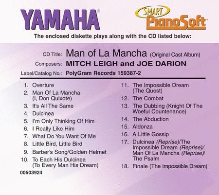 man of la mancha score pdf