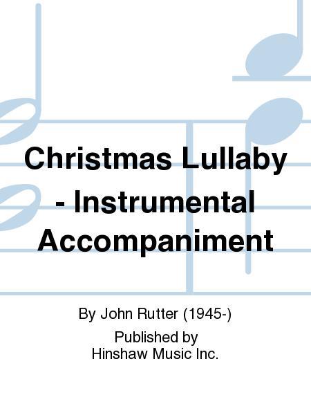 christmas lullaby john rutter pdf