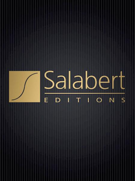 Editions Salabert Gloria Vocal Score SATB Composed by Francis Poulenc