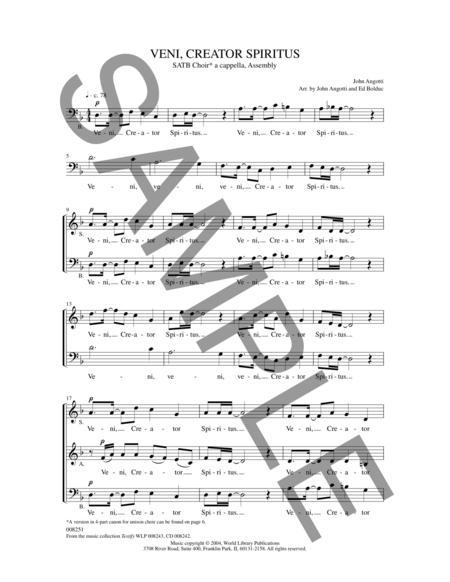 veni creator spiritus robert lebel pdf