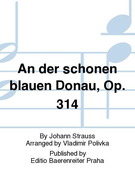 strauss blue danube piano pdf