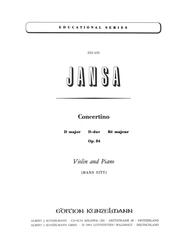 Concertino in D Major, Op.54