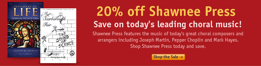 Shawnee Press Sale Sale