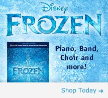 Disney's Frozen Sheet Music