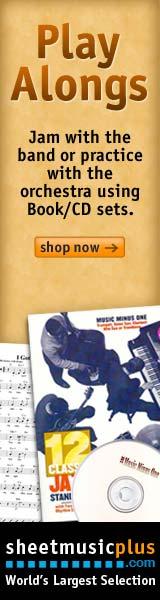 Sheet Music Plus Play Alongs