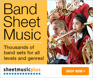 Sheet Music Plus Band Music