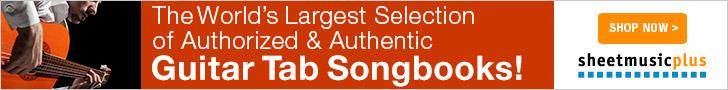 Sheet Music Plus Guitar Tabs