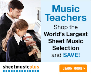 Sheet Music Plus Music Teachers