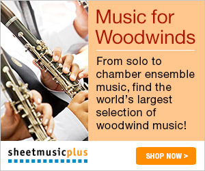 Sheet Music Plus Music for Woodwinds
