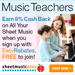 Sheet Music Plus Easy Rebates