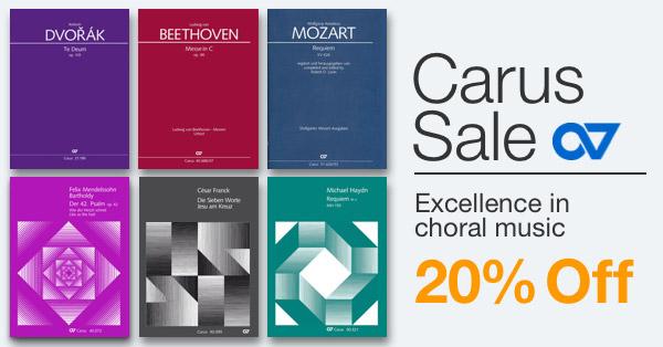 20% off Carus Sale