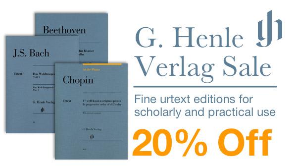 20% off G. Henle Sale