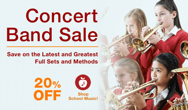 20% off Concert Band Sale