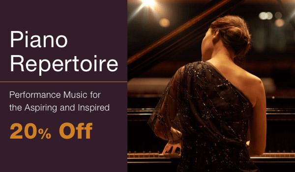 20% off Piano Repertoire Sale