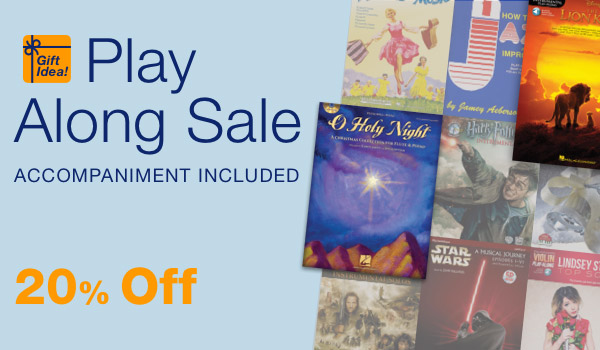 20% off Play Along Sale