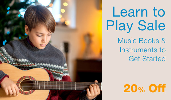 20% Off Learn To Play Sale