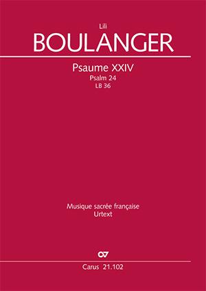 Boulanger - Psalm 24, LB 36 (Vocal Score)