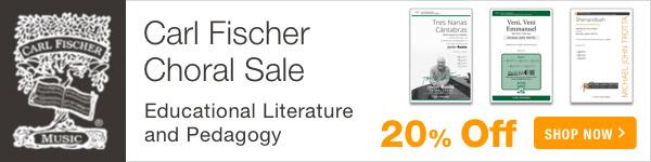 20% off Carl Fischer Sale - Shop Now >