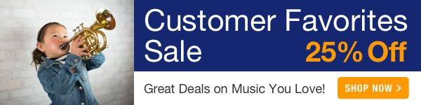 25% off Customer Faborites Sale - Shop Now >