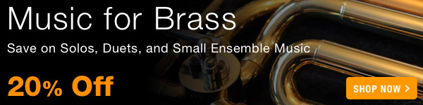 20% off Music For Brass Sale - Shop Now >