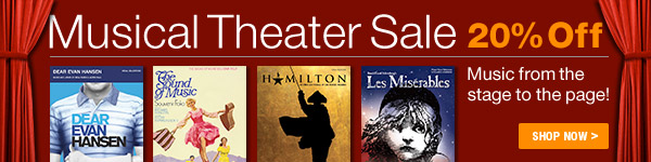 20% off Musical Theater Sale - Shop Now >