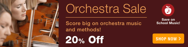 20% off Orchestra Sale - Shop Now >