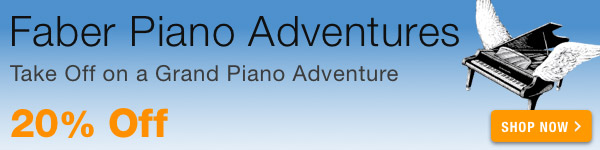 20% off Faber Piano Adventures Sale - Shop Now >