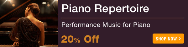 20% off Piano Repertoire Sale - Shop Now >