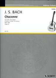 Chaconne: Violin Sheet Music