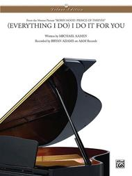 Michael Kamen  Sheet Music (Everything I Do) I Do It for You Song Lyrics Guitar Tabs Piano Music Notes Songbook