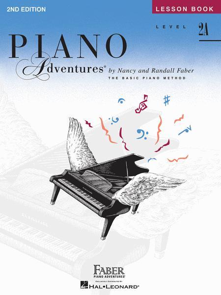 Piano Adventures - Lesson Book (Level 2A)