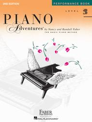 Piano Adventures Performance Book, Level 2B by Nancy Faber sheet music