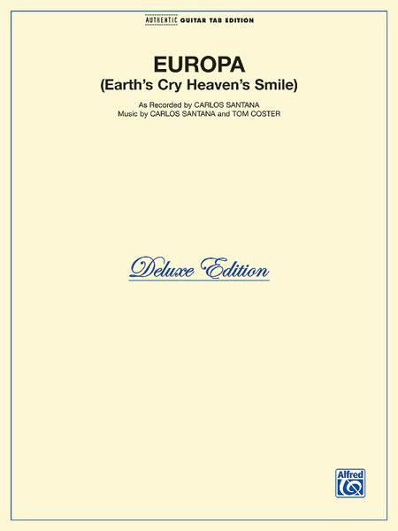Europa Earths Cry Heavens Smile Sheet Music By Carlos Santana