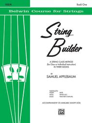 String Builder, Violin Book 1