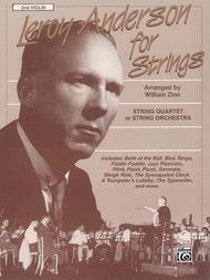 Leroy Anderson For Strings 2nd Violin: Violin Sheet Music