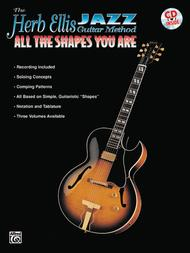 Herb Ellis Jazz Guitar Method All The Shapes You Are Book/cd