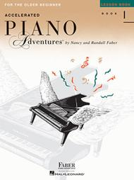 Accelerated Piano Adventures for the Older Beginner by Nancy Faber, Randall Faber sheet music