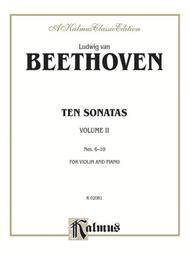 Ten Violin Sonatas, Volume 2