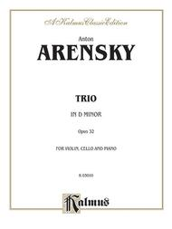 Trio in D Minor, Op. 32