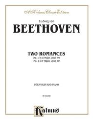 Two Romances, Op. 40 and 50