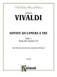 Sonatas da Camera a Tre, Op. 1, Volume 1