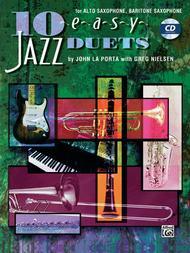 John La Porta  Sheet Music 10 Easy Jazz Duets - Eb Edition Song Lyrics Guitar Tabs Piano Music Notes Songbook