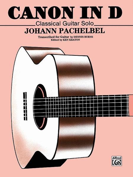 Classical guitar scores / tablatures