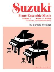 Suzuki Piano Ensemble Music for Piano Duet, Volume 1 sheet music