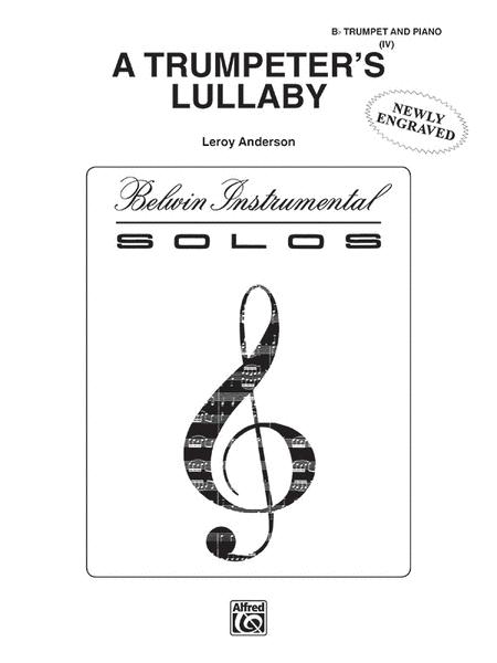 A Trumpeter's Lullaby (Bb Trumpet And Piano) Sheet Music By